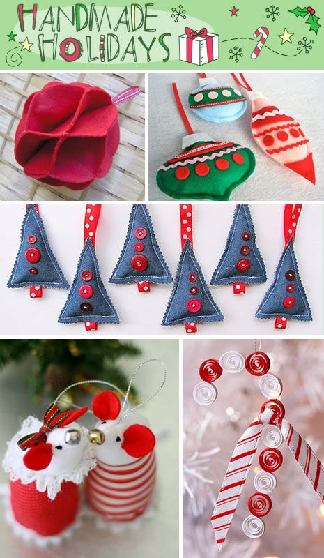 Handmade Christmas Ornaments: Ornaments Tutorials, Christmas Crafts, Christmas Holidays, Discount Nike, Handmade Christmas, Felt Ornaments, Christmas Decor, Christmas Ornaments, Christmas Ideas