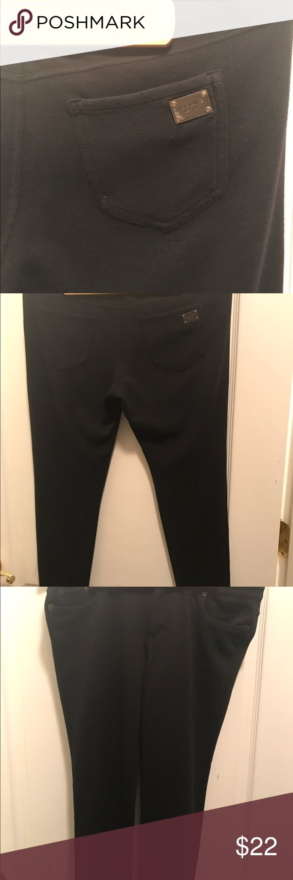 Micheal kors black soft pants Soft &stretchy ,stylish. Looking lot skinnier then you are good conditions KORS Michael Kors Pants Skinny