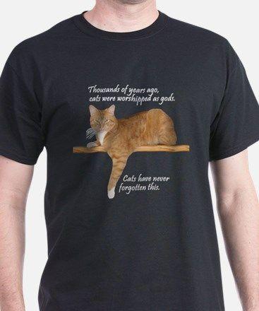 Orange Cat Ginger Kitty T-Shirt $45