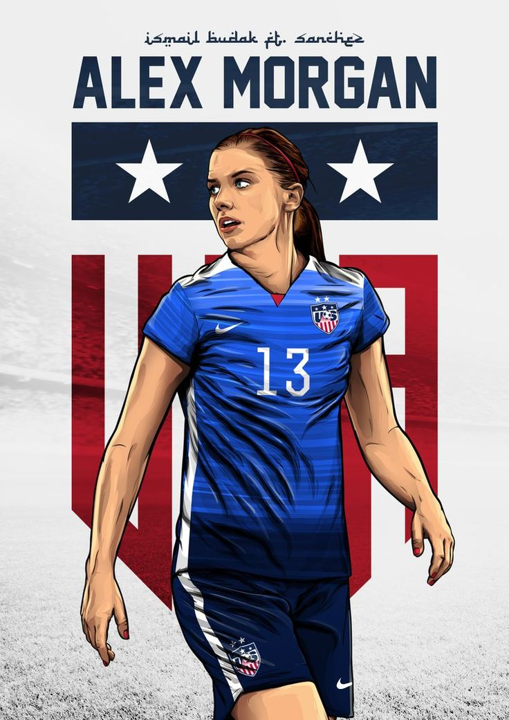 Alex Morgan ft. Ismail Budak Design by SanchezGraphic.deviantart.com on @DeviantArt