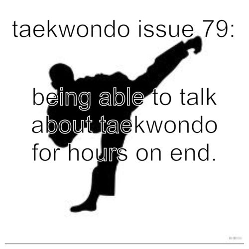 My non-martial arts friends (and even some of my martial arts friends) don't seem to appreciate this