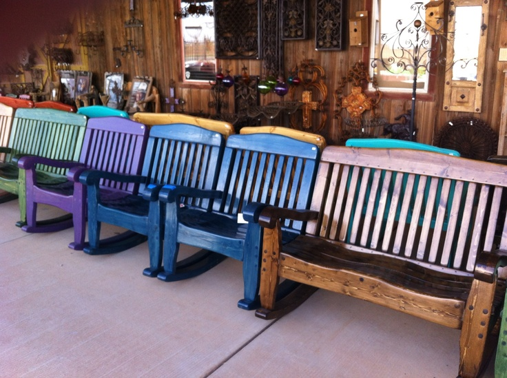 Colored Rockers Coyote Candle Co Lubbock Tx Ranch