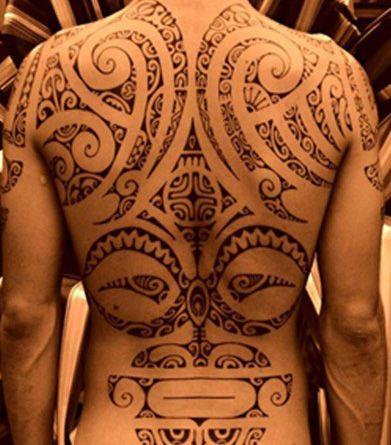 Maoris Motif - Tattoo Tatouage