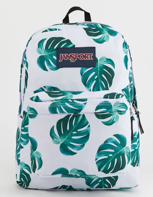 JANSPORT Monstera Leaves Backpack | School 2018-2019 in 2019