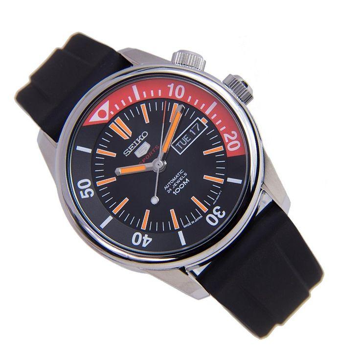 Sports Watch Store - Seiko 5 Sports SRPB31J1 SRPB31J Analog Black Silicone Band Luminous Male Watch, $200.00 (https://www.sports-watch-store.com/seiko-5-sports-srpb31j1-srpb31j-analog-black-silicone-band-luminous-male-watch/)