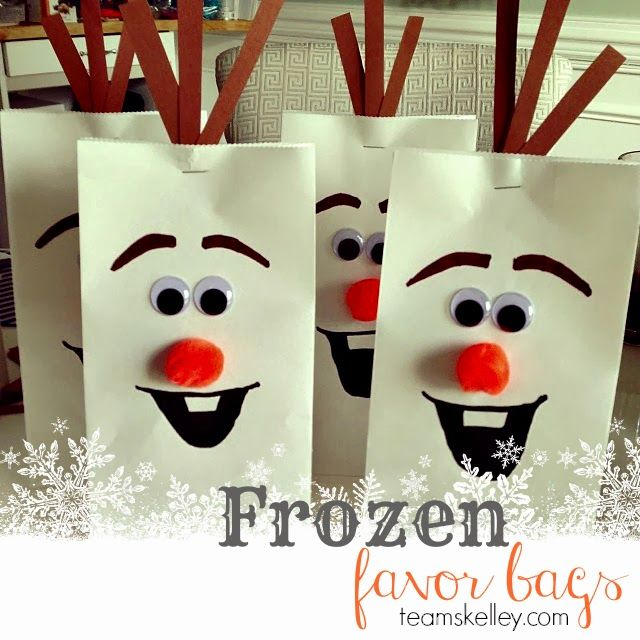 frozen favor ideas | 21 Disney Frozen Birthday Party Ideas – Including a Beautiful Frozen ...