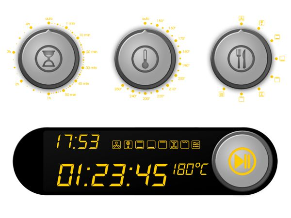 Oven Interface Redesign (UI/UX) on Behance