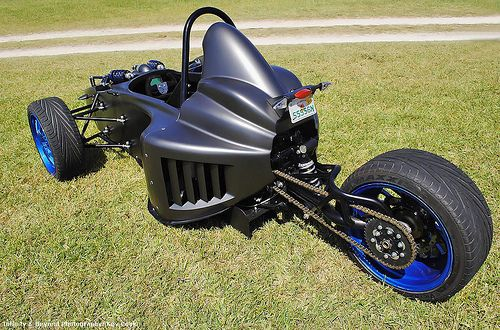 Scorpion Motorsports P6 Motorcycle Reverse Trike | Flickr - Photo Sharing!
