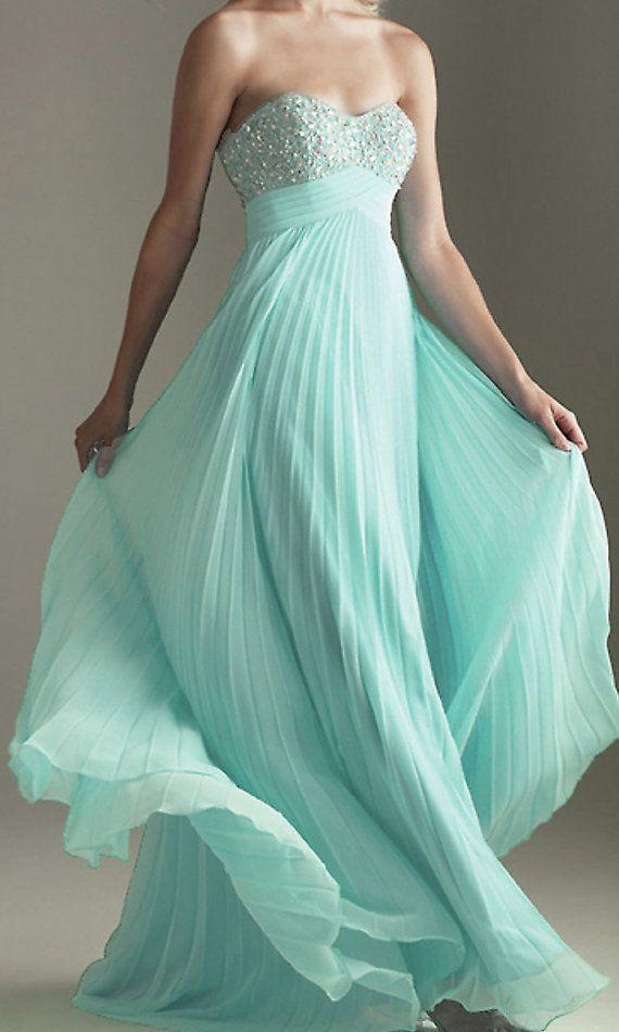 strapless prom dress cheap prom dresses long prom by okbridal, $129.00