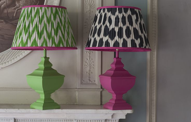 Melodi Horne soft furnishings, lampshades and cushions.Melodi Horne
