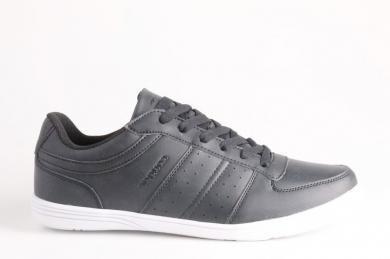 Cougar - Erkek Siyah Bağcıklı Spor Ayakkabı