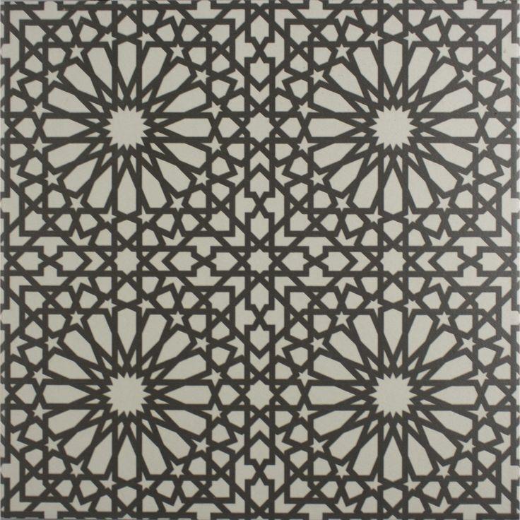 Marrakech Bellisa Silver 4 Pattern Floor Tile