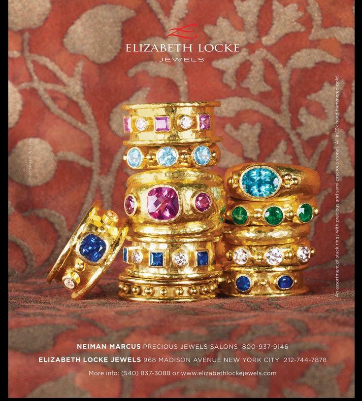 Pin By Bonnie Levy On Jewelry Elizabeth Locke Jewels Jewel Hands
