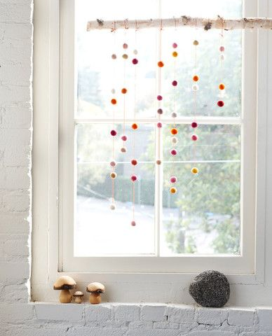 Vintage H bsche Fensterdeko kids room
