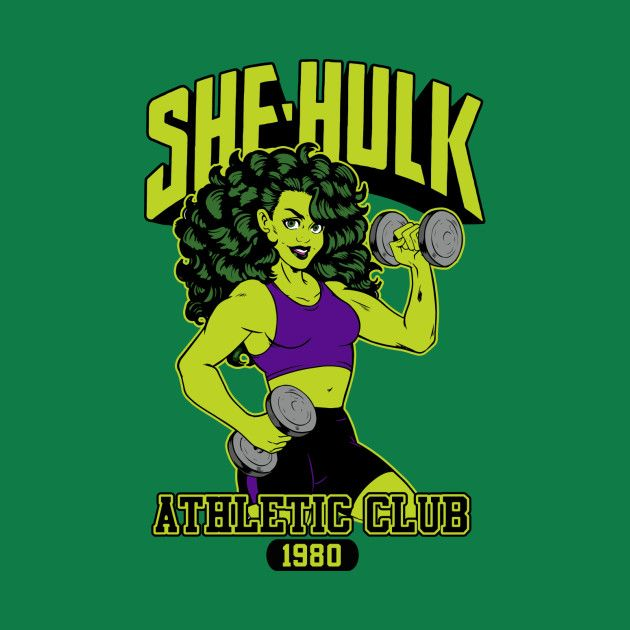 Check out this awesome #She #Hulk #Gym #Shirt @ https://www.teepublic.com/t-shirt/218090-she-hulk-full-color-gym-shirt?aff_store_referral_id=756