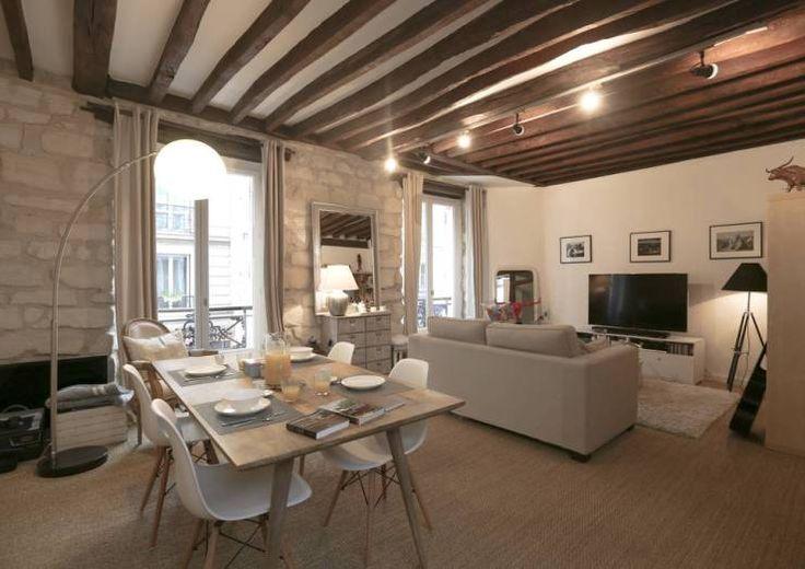 Décoration d'un appartement ancien: Salon de style Moderne par Xavier Lemoine Architecture d'Intérieur