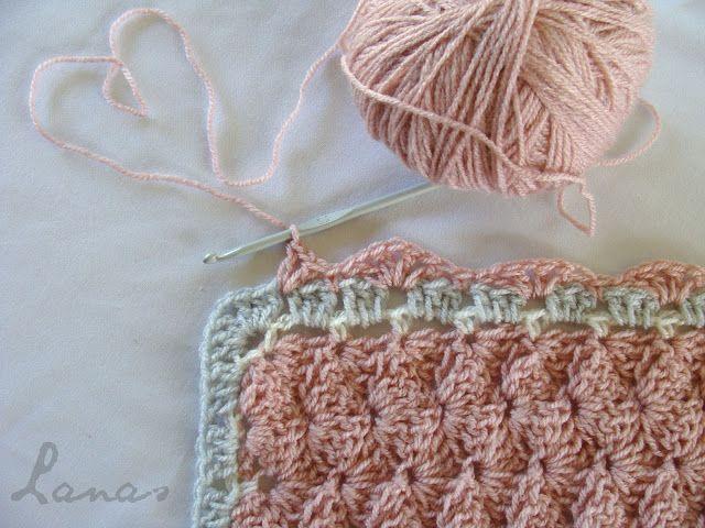 Lanas de Ana: Antique Pink Blanket