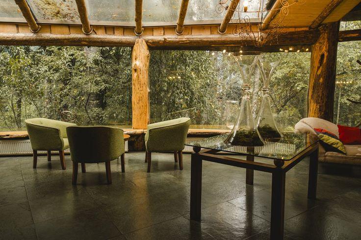 Montaña Mágica Lodge – Huilo Huilo Reserva Biológica – Patagonia Codillera de los Andes Chile