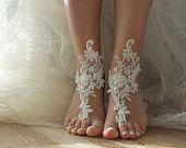 Sandalias descalzas boda playa