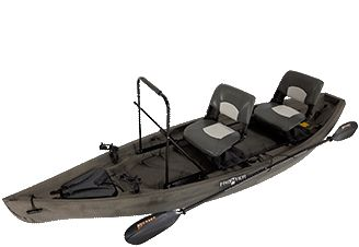 NuCanoe - Hybrid kayaks for fishing, etc.  I would love one of these!