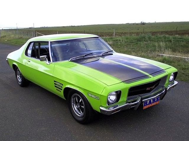 General Motors Holden's Greatest: HQ Monaro GTS Coupe (1971). transport car