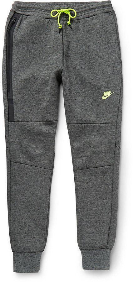 Nike NSW Cotton-Blend Fleece Sweatpants ($100)