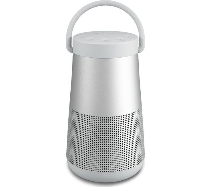 Buy BOSE SoundLink Revolve Portable Bluetooth Wireless Speaker - Grey, Grey Price: £269.95 Top features: - Listen to immersive 360 degree sound - Take your music outside thanks to a water resistant design - Use your smartphone to control and add more speakers - Get up to 16 hours of listening on a single charge Listen to immersive 360 degree soundThe Bose SoundLink Revolve+ delivers powerful...