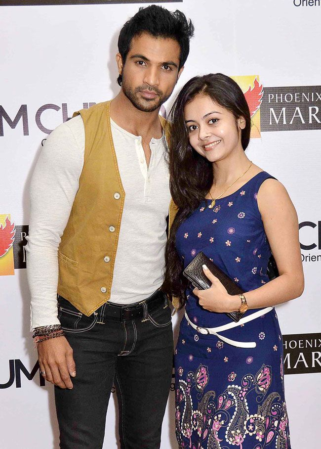 Mohammed Nazim with Devoleena Bhattacharjee at an Easter themed party. #Style #Bollywood #Fashion #Beauty