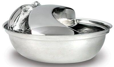Raindrop Stainless Steel Pet Fountain