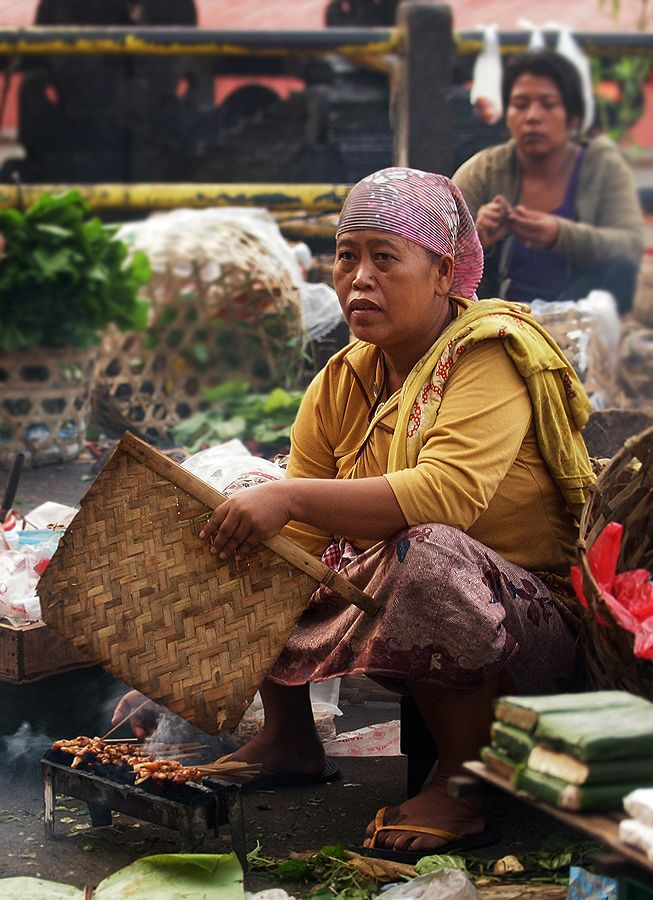 Sateh Vendor, Bali / Indonesia