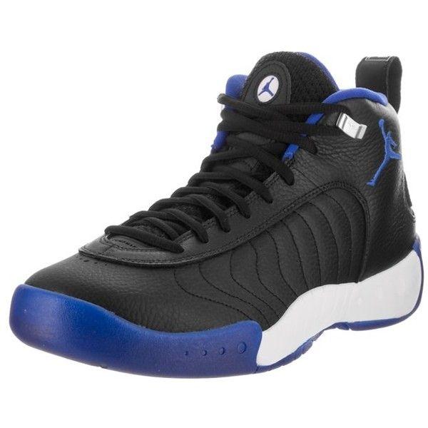 Jordan Nike Jordan Men's Jordan Jumpman Pro Basketball Shoe |... ($145) ❤ liked on Polyvore featuring men's fashion, men's shoes, black, shoes, nike mens shoes, mens shoes, mens black shoes, mens black leather shoes and mens leather shoes