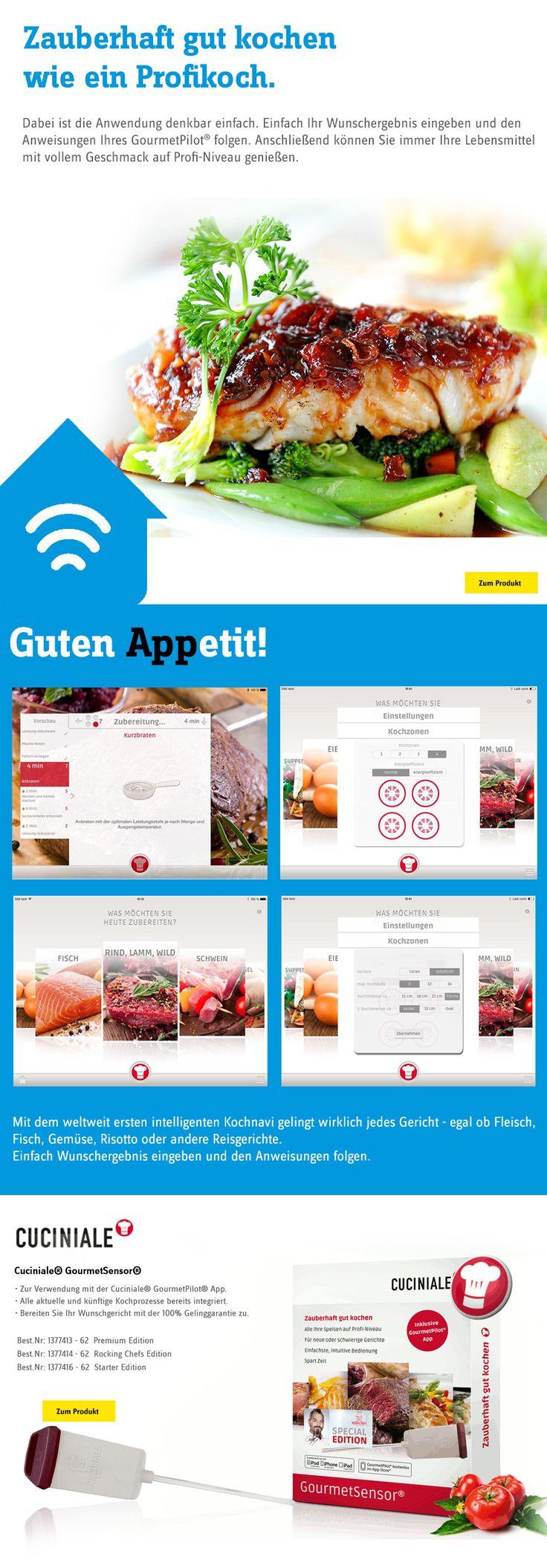 die kostenlose Koch-App Kochnavi Cuciniale ...