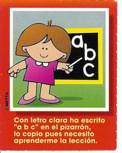 Vocabulario en imágenes. Maestra de Infantil y Primaria.: Juego de las profesiones. Tarjetas con poemas.