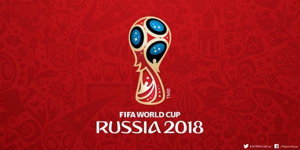 logo FIFA 2018 in Russia