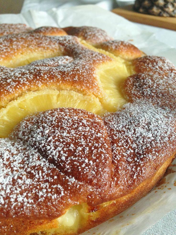 Scented little pleasures | Indirizzi, ricette, viaggi: Torta super soffice all'ananas