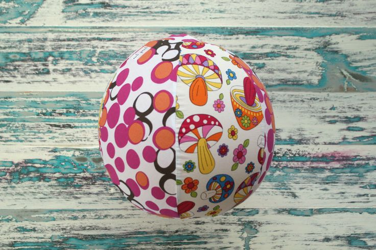 Balloon Ball Kids Toy - Pink Mushroom Balloon Cover - Machine Washable Sensory Toy - Toddler Gift by EachPeachUnique on Etsy https://www.etsy.com/au/listing/502706302/balloon-ball-kids-toy-pink-mushroom