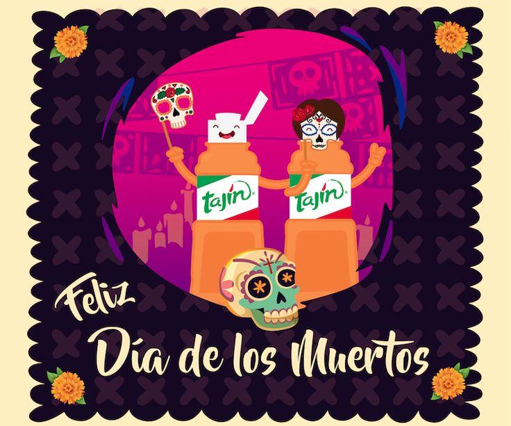 ¡Feliz Día de los Muertos! From our Tajín family to yours. #DiaDeMuertos