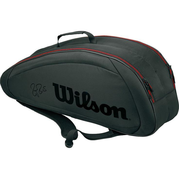Sacs Sacs 6 Raquettes Wilson Thermobag Federer Team 6 Pack • Yves-Tennis.fr