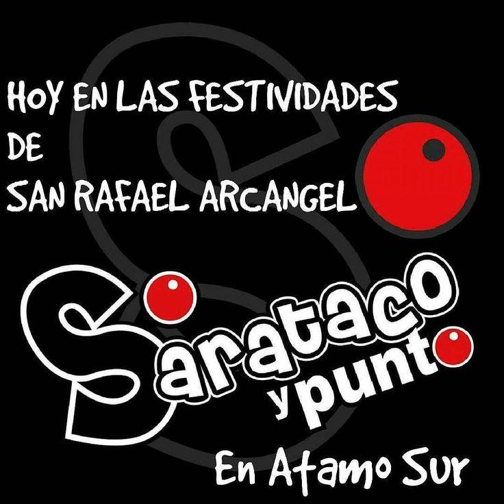 @Regrann from @saratacoypunto -  Hoy decidimos presente en las Festividades de San Rafael Arcángel en la cancha de Atamo Sur a las 7:30 pm!!! Ven a disfrutar de la #ParrandaPaToElAño de #SaratacoyPunto!!! #NuevoCD #SaratacoyPunto2016 #NuevosProyectos #NuevasMetas #ParrandaPaToElAño #ParrandaMargariteña #talentomargariteño #talentovenezolano #MusicaMargariteña #Regrann