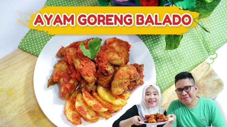 Resep dan Cara Buat Ayam Goreng Balado ala Dapur Adis  #dapuradis #food #cooking #cook #howtocook #recipe #friedchicken #balado #minang #recipeoftheday