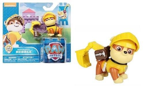 Paw Patrol Rubble Mission Quest Nickelodeon Action Figure Unisex Child Toy Gift #PawPatrolRubble