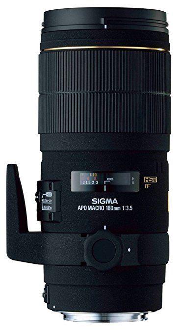 Sigma Objectif Macro 180 mm F3,5 EX DG APO HSM - Monture Nikon