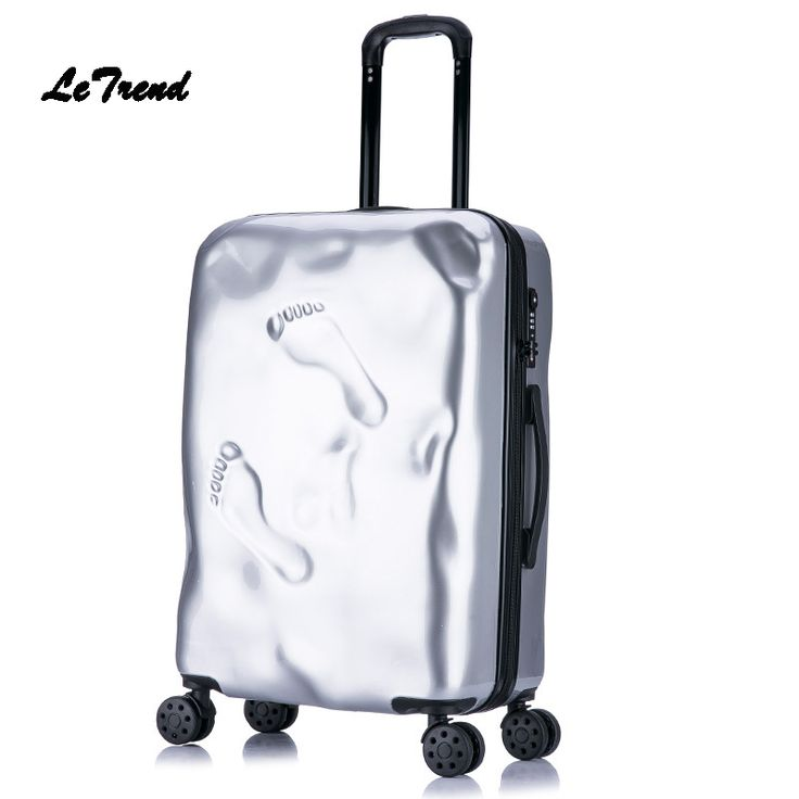 Letrend  Retro Rolling Luggage Spinner Student Travel Bag PC Wheels Suitcase Trolley 20 inch Women Carry On Password Trunk //Price: $86.75 & FREE Shipping //     #hashtag3