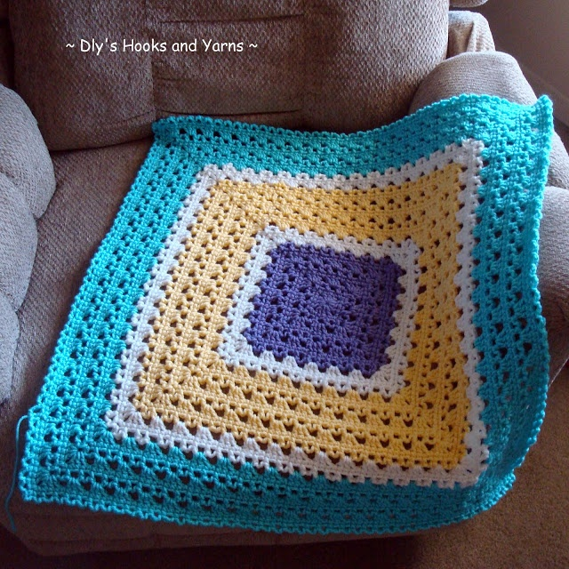 Granny Square Knitting Pattern : Images about crochet knitting cross stitch on