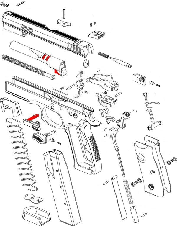 138 best WEAPONS: FIREARMS DIAGRAMS images on Pinterest