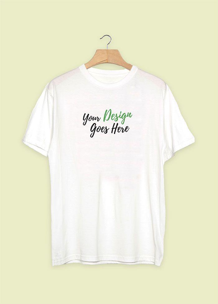 White T-Shirt Mockup PSD