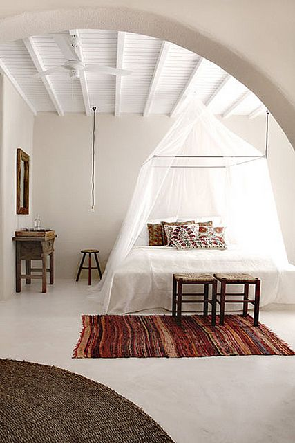 hotel san giorgio, mykonos, Greece by the style files, via Flickr    this would be an awesome honeymoon spot! so beauitful