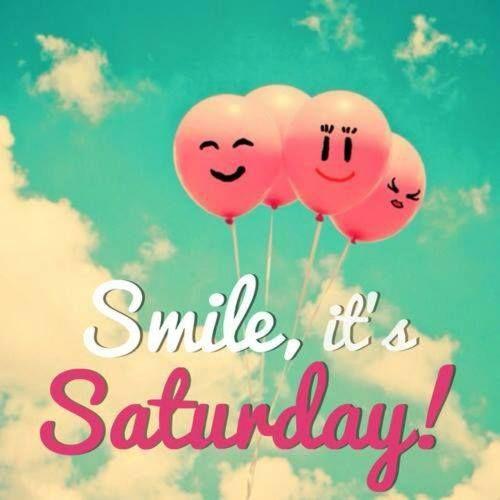 Que tengan un excelente fin de semana y lo disfruten al máximo. ¡Buenos días!