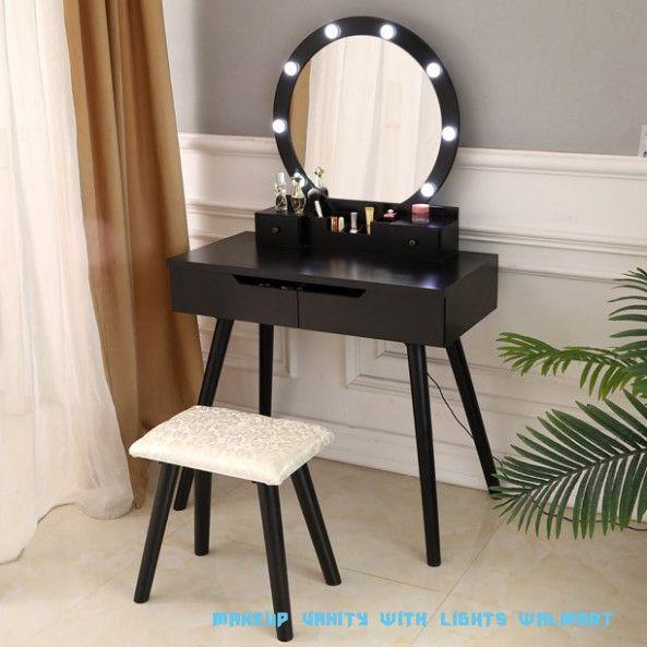 Seven Important Life Lessons Makeup Vanity With Lights Walmart Taught Us Makeup Vanity With Lights Walmart In 2020 Bedroom Vanity Set Dressing Table Set Vanity Set