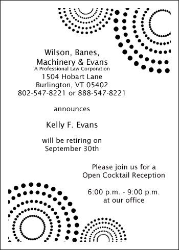 23 best Business Invitations Announcements Cards images on - business meet and greet invitation wording